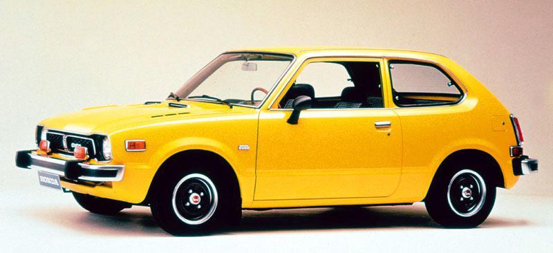 Honda Civic SB1, SG, SE, VB (1973 civic cvcc 43aab62348145)