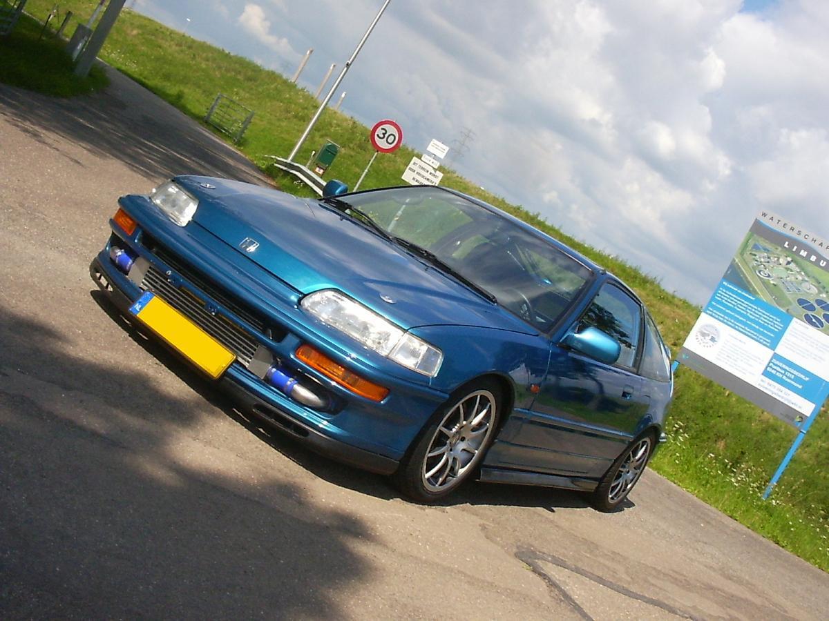 Honda Cr X >> Honda CR-X II (cr x16i vtturbo)